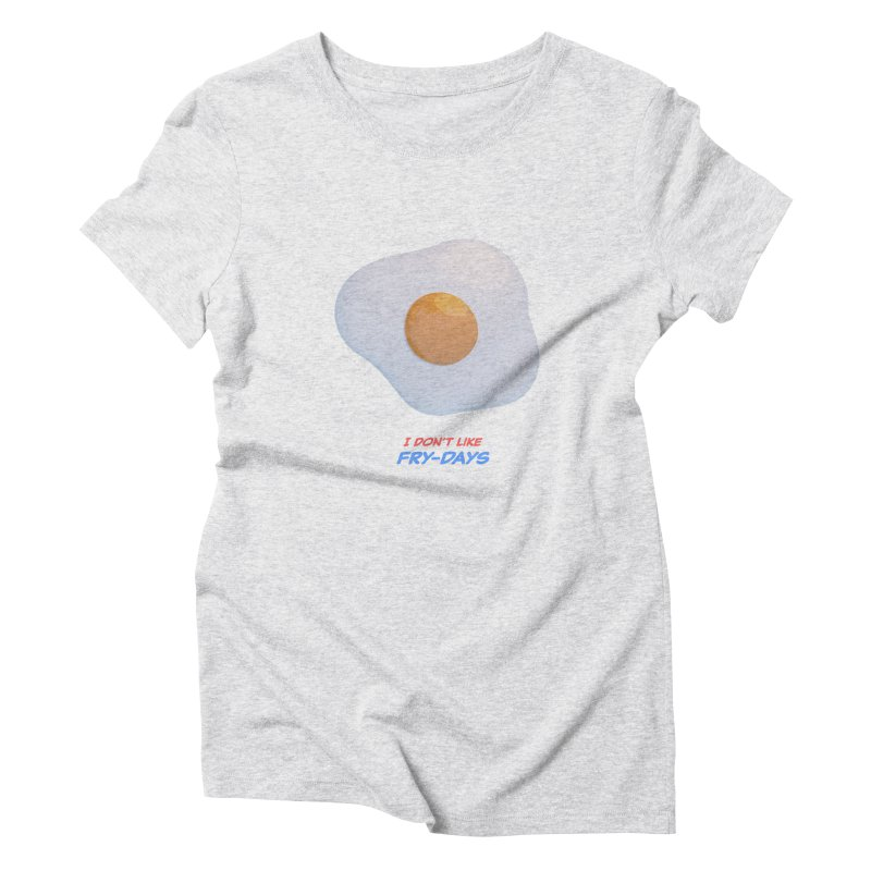Sunny Side Up Women's T-Shirt by normalflipped store