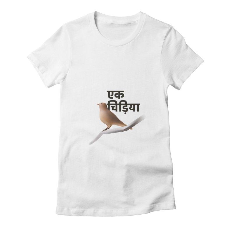 Ek Chidiya Women's T-Shirt by normalflipped store