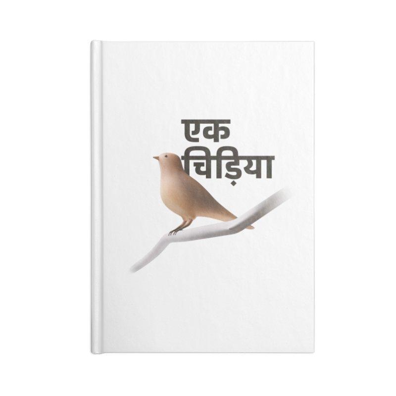 Ek Chidiya Accessories Notebook by normalflipped store