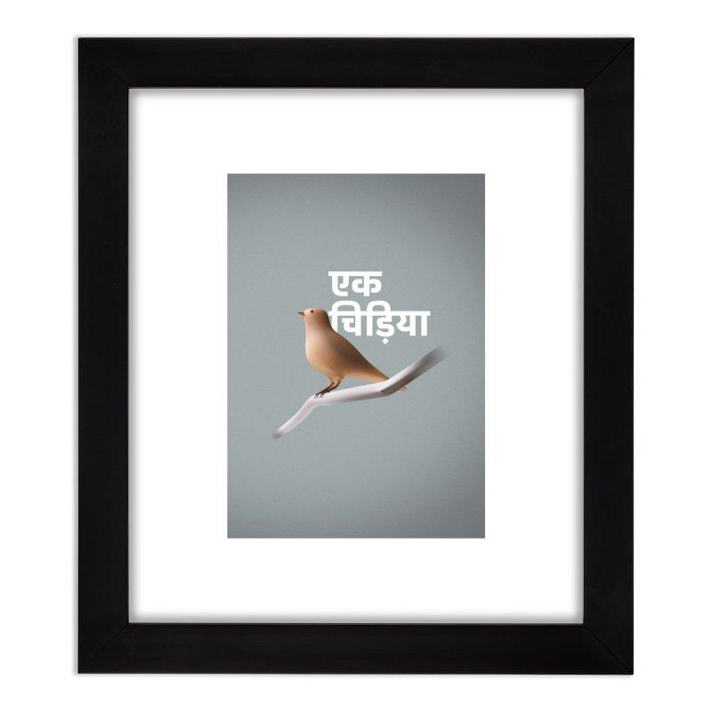 Ek Chidiya Home Framed Fine Art Print by normalflipped store