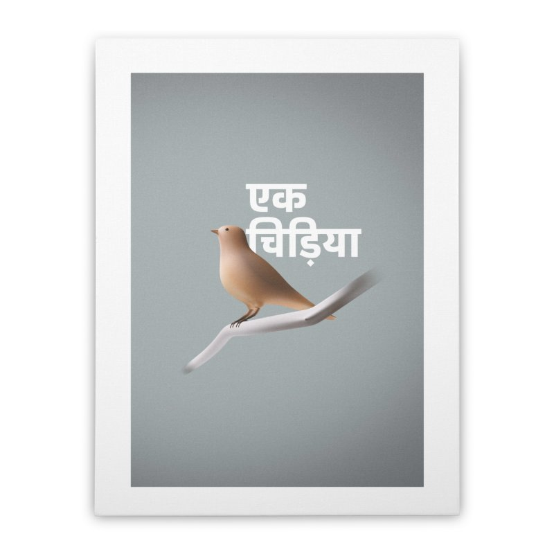 Ek Chidiya Home Stretched Canvas by normalflipped store