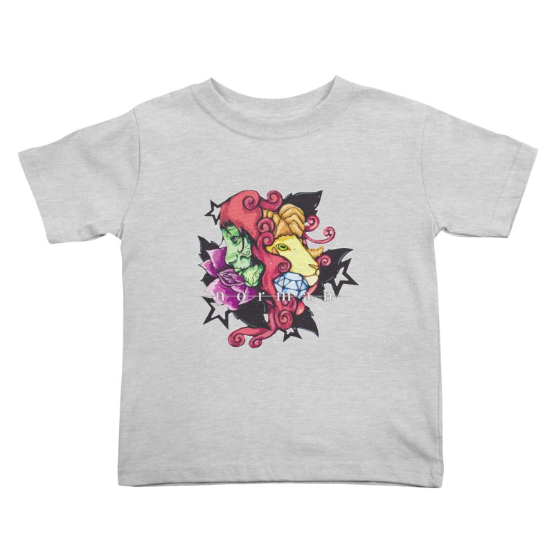 Phoenix Corona Kids Toddler T-Shirt by Norman Wilkerson
