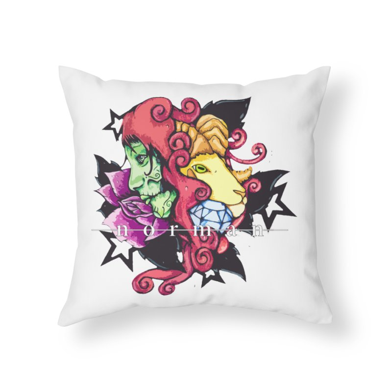 Phoenix Corona Home Throw Pillow by Norman Wilkerson