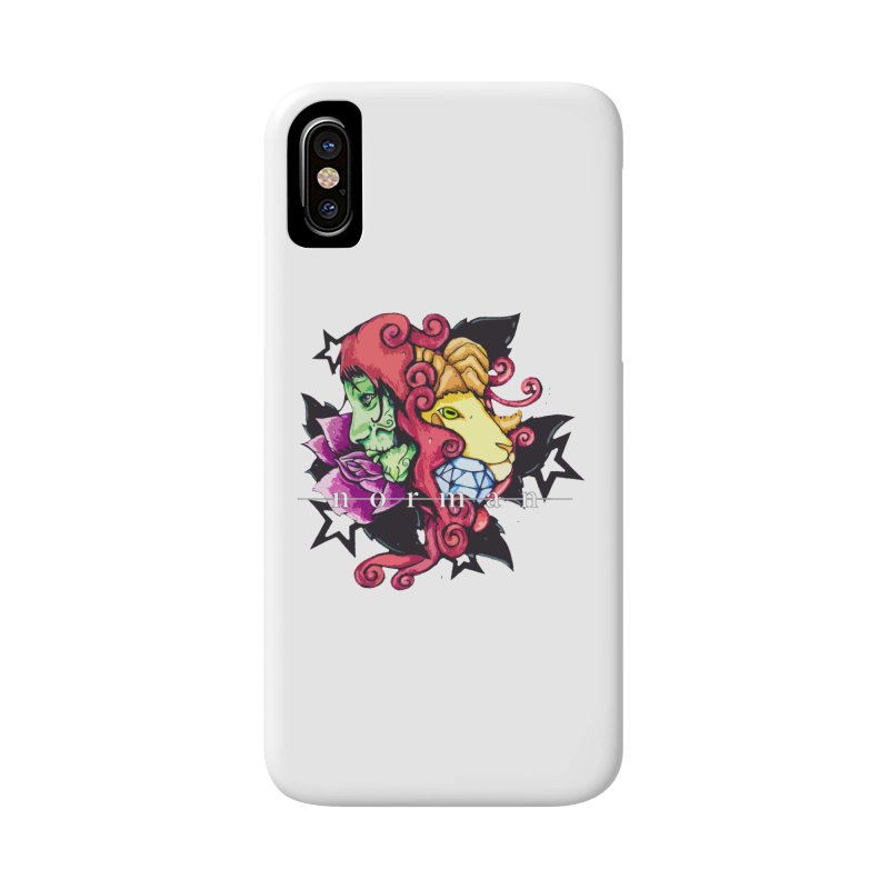 Phoenix Corona Accessories Phone Case by Norman Wilkerson
