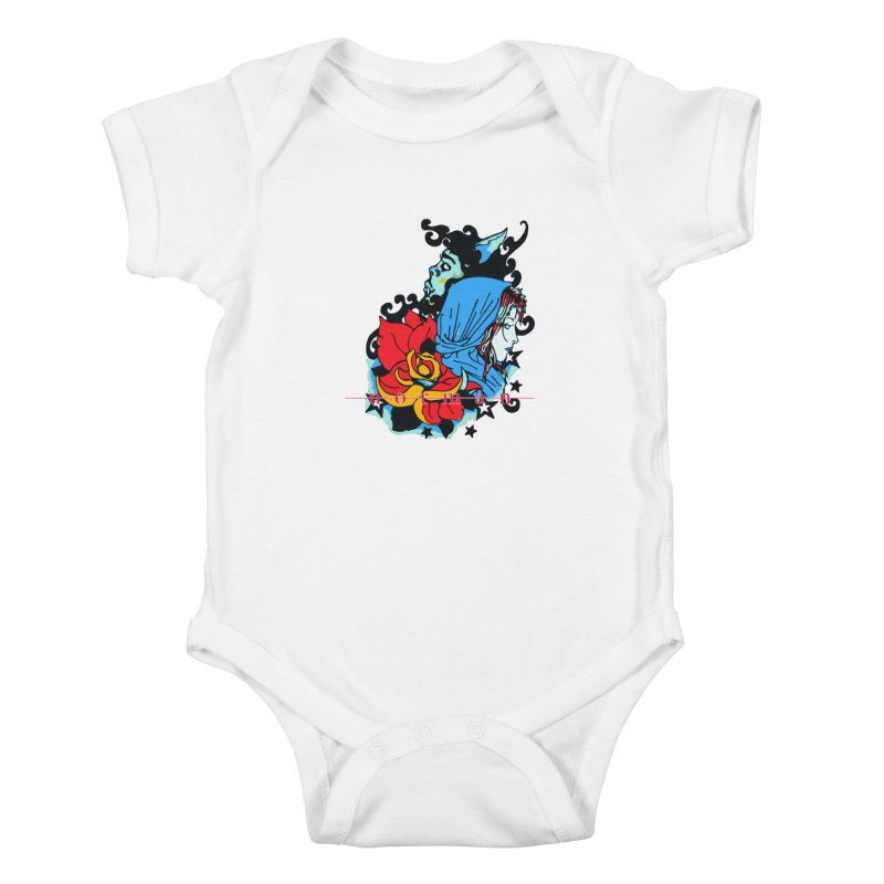 Cry On Whatever Kids Baby Bodysuit by Norman Wilkerson