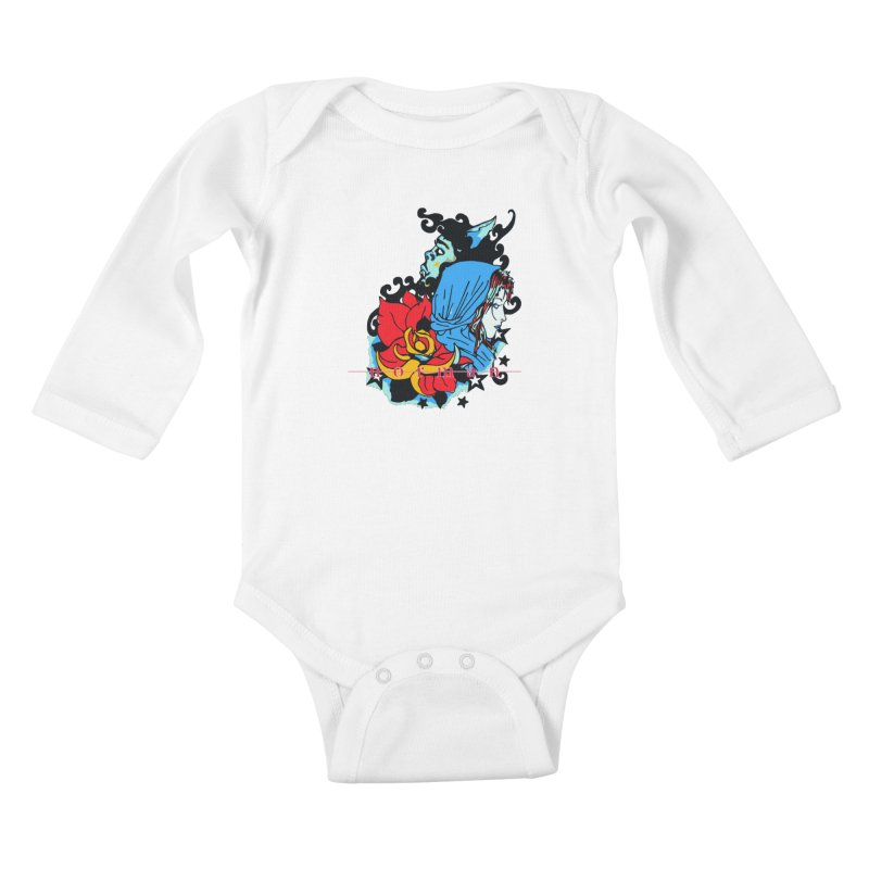 Cry On Whatever Kids Baby Longsleeve Bodysuit by Norman Wilkerson