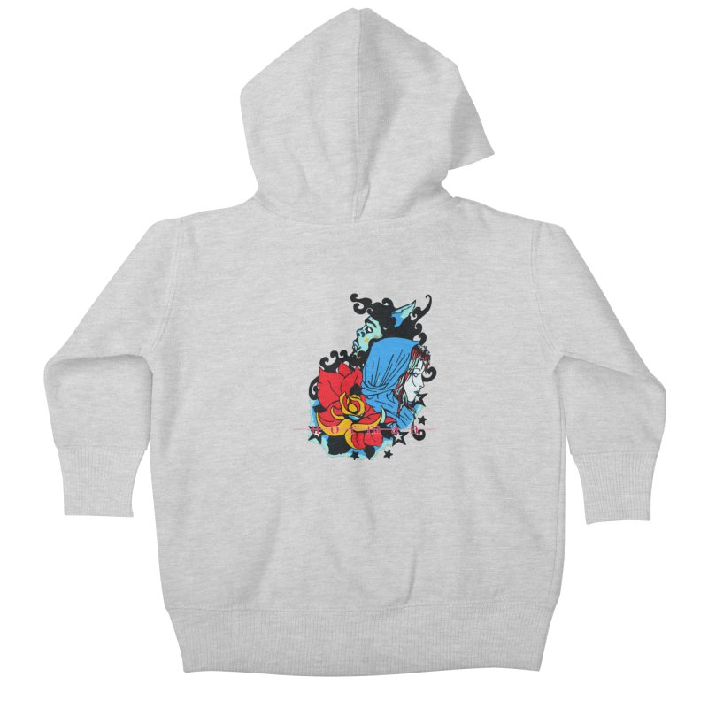 Cry On Whatever Kids Baby Zip-Up Hoody by Norman Wilkerson