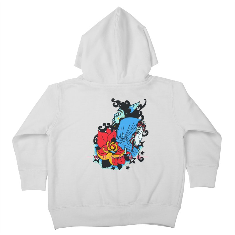 Cry On Whatever Kids Toddler Zip-Up Hoody by Norman Wilkerson