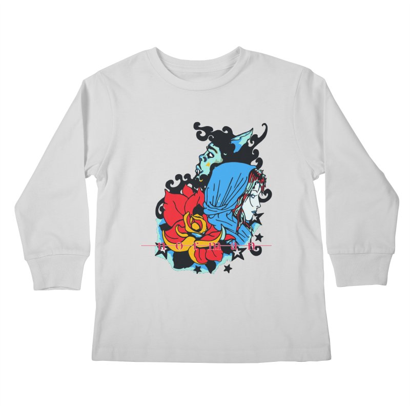 Cry On Whatever Kids Longsleeve T-Shirt by Norman Wilkerson
