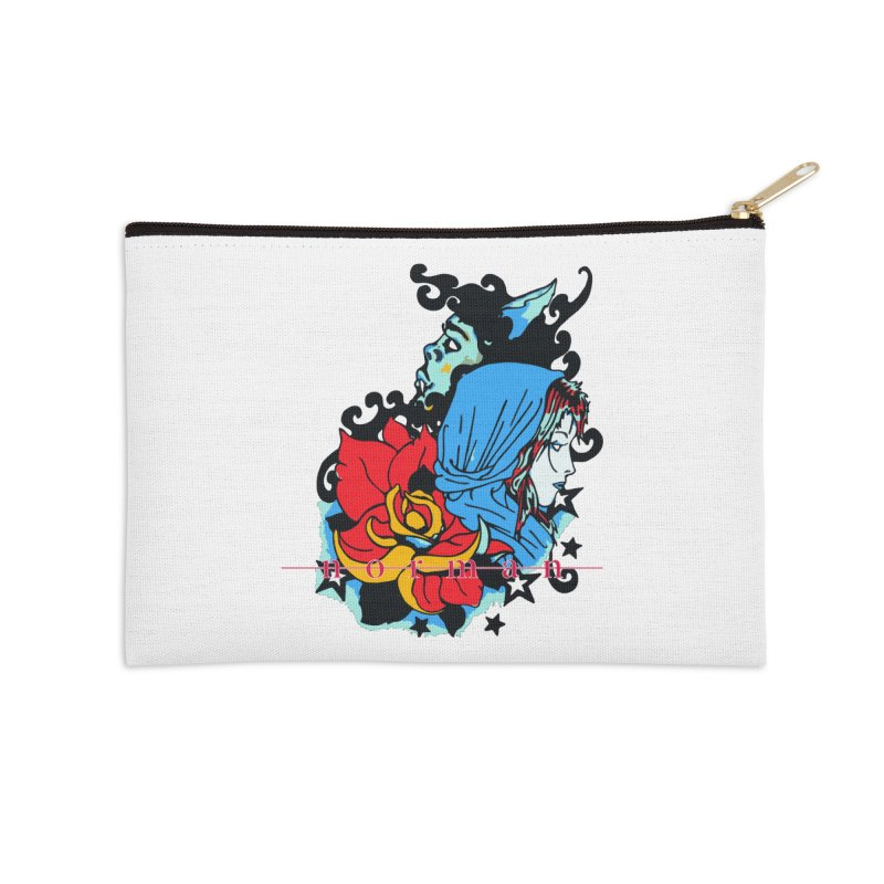 Cry On Whatever Accessories Zip Pouch by Norman Wilkerson