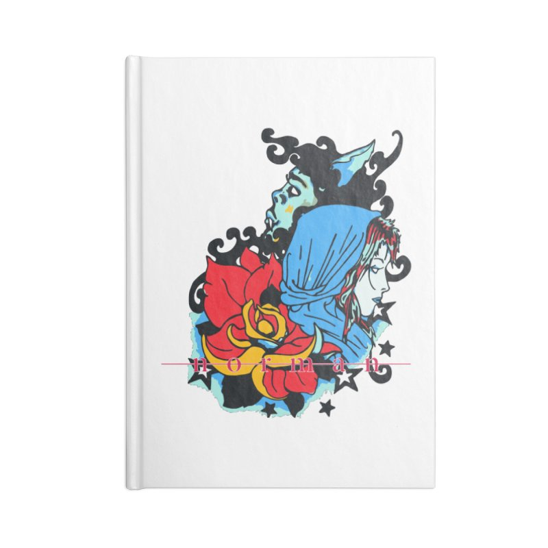 Cry On Whatever Accessories Blank Journal Notebook by Norman Wilkerson