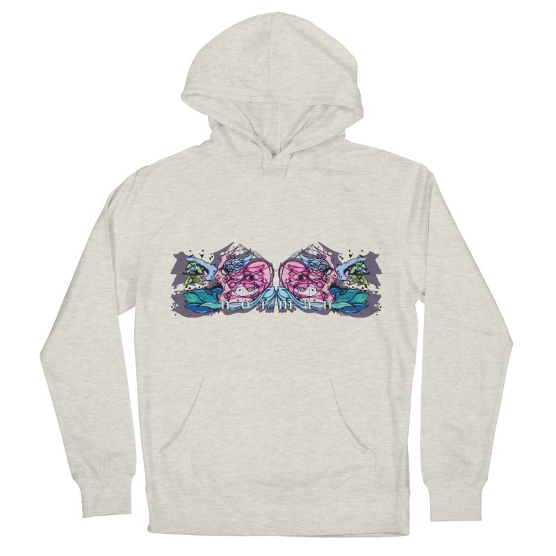 Peel Me Away Women's French Terry Pullover Hoody by Norman Wilkerson