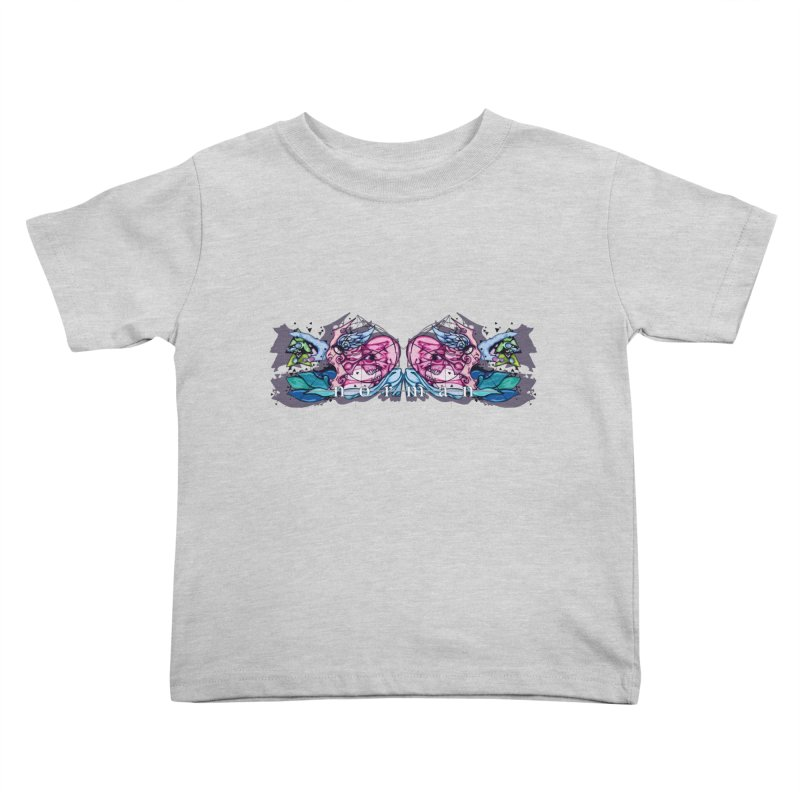 Peel Me Away Kids Toddler T-Shirt by Norman Wilkerson