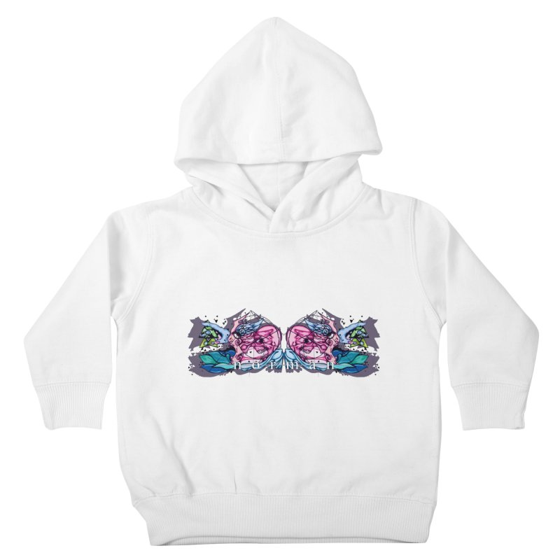 Peel Me Away Kids Toddler Pullover Hoody by Norman Wilkerson