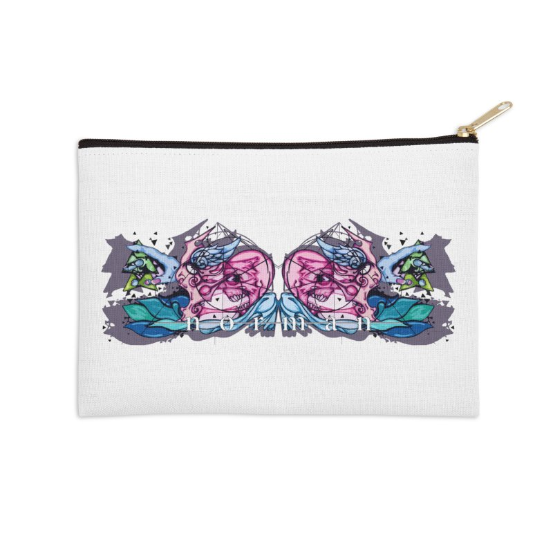 Peel Me Away Accessories Zip Pouch by Norman Wilkerson