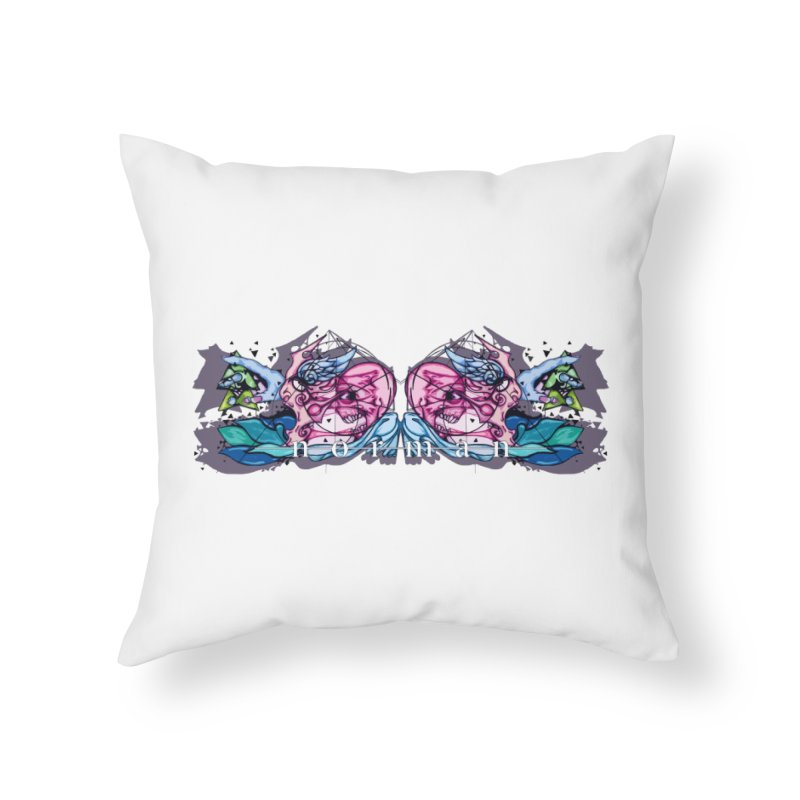 Peel Me Away Home Throw Pillow by Norman Wilkerson