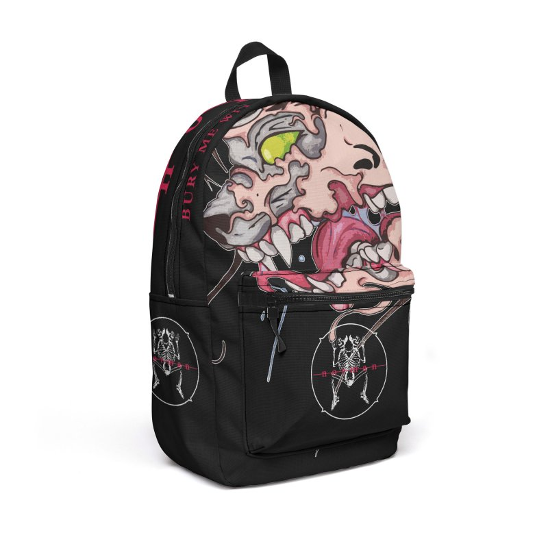 Bury Me With Wolves Accessories Backpack Bag by Norman Wilkerson