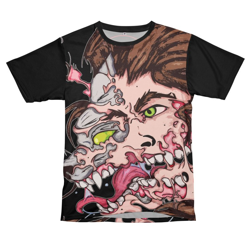Bury Me With Wolves Men's T-Shirt Cut & Sew by Norman Wilkerson