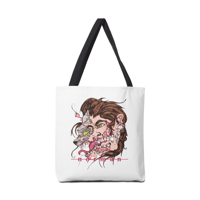 Bury Me With Wolves Accessories Tote Bag Bag by Norman Wilkerson