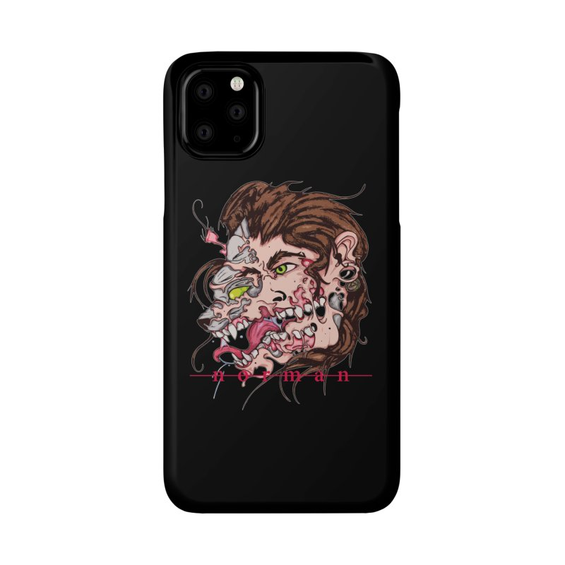 Bury Me With Wolves Accessories Phone Case by Norman Wilkerson