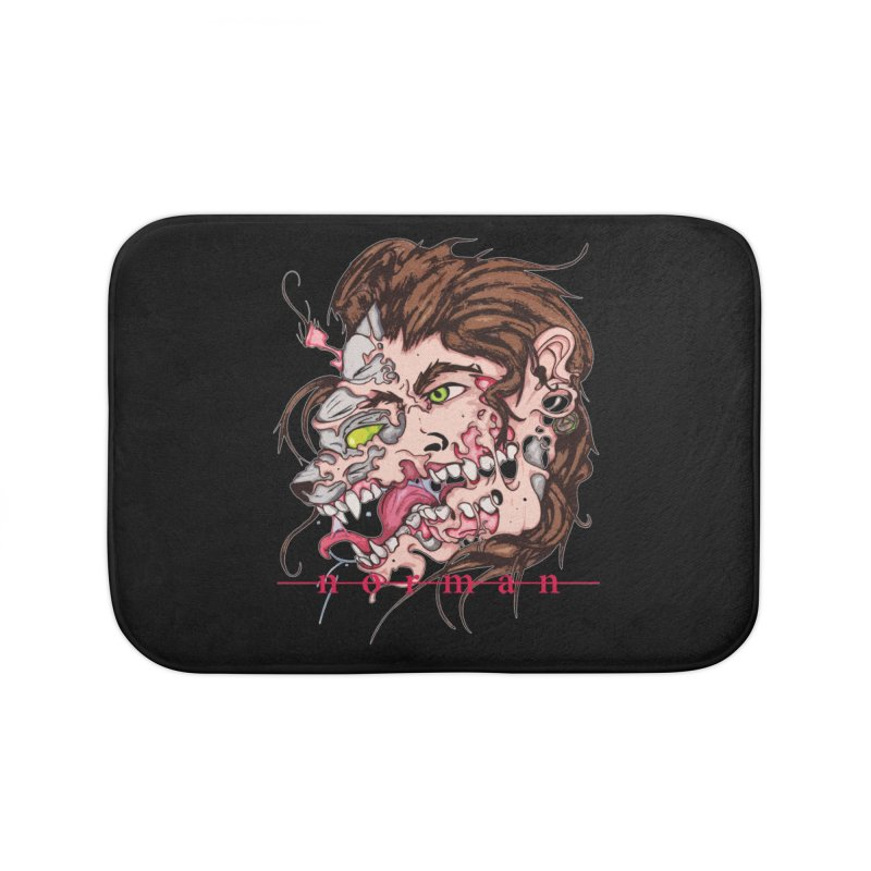 Bury Me With Wolves Home Bath Mat by Norman Wilkerson