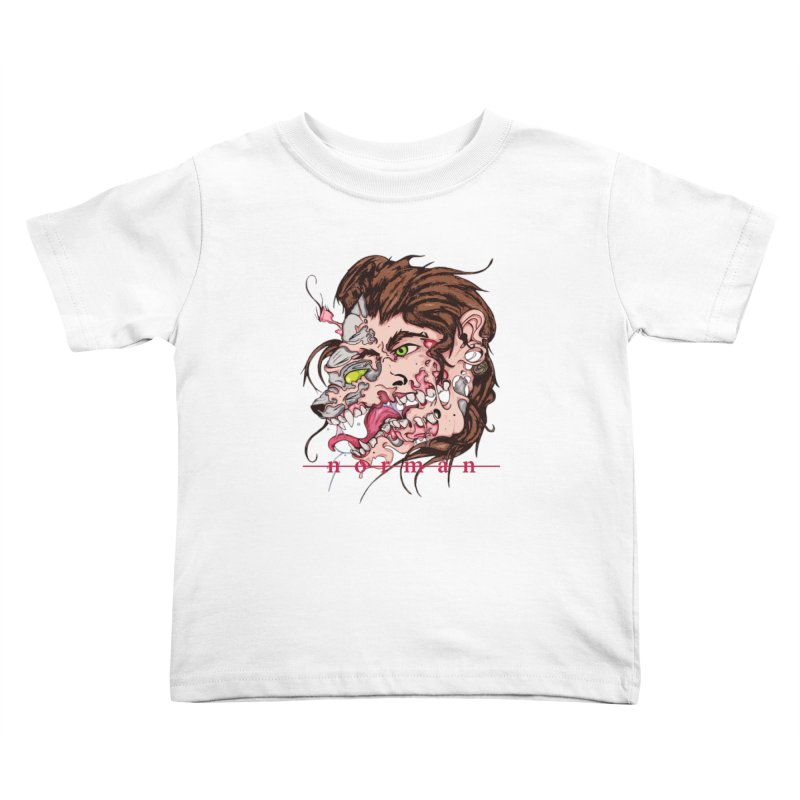 Bury Me With Wolves Kids Toddler T-Shirt by Norman Wilkerson