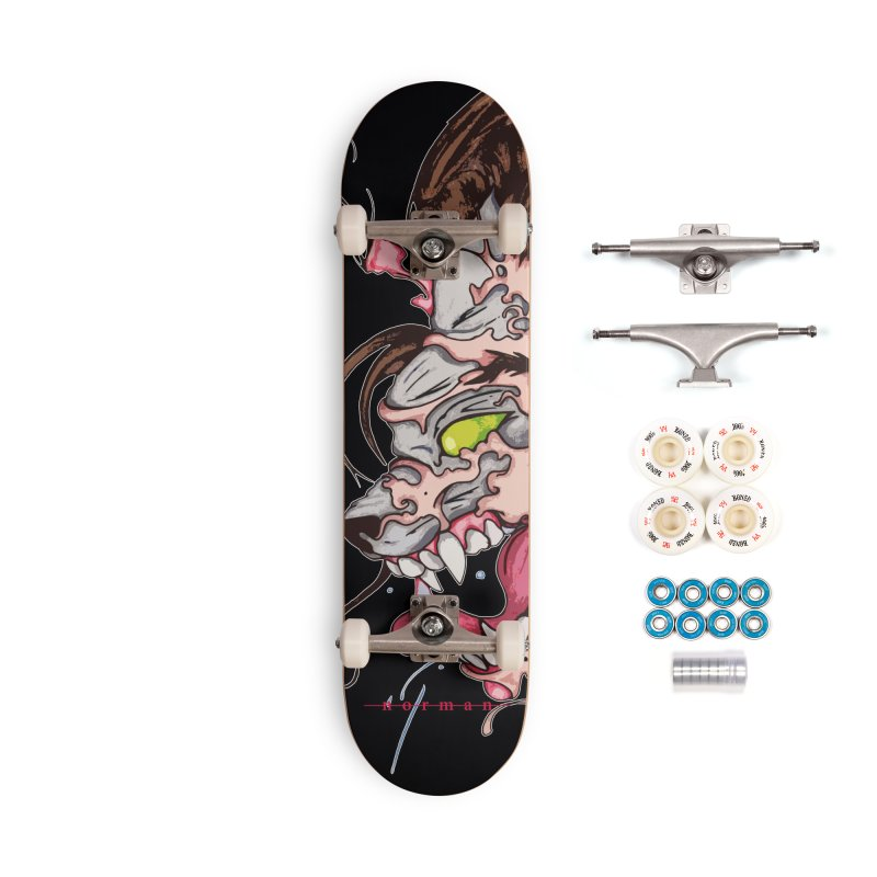 Bury Me With Wolves Accessories Complete - Premium Skateboard by Norman Wilkerson