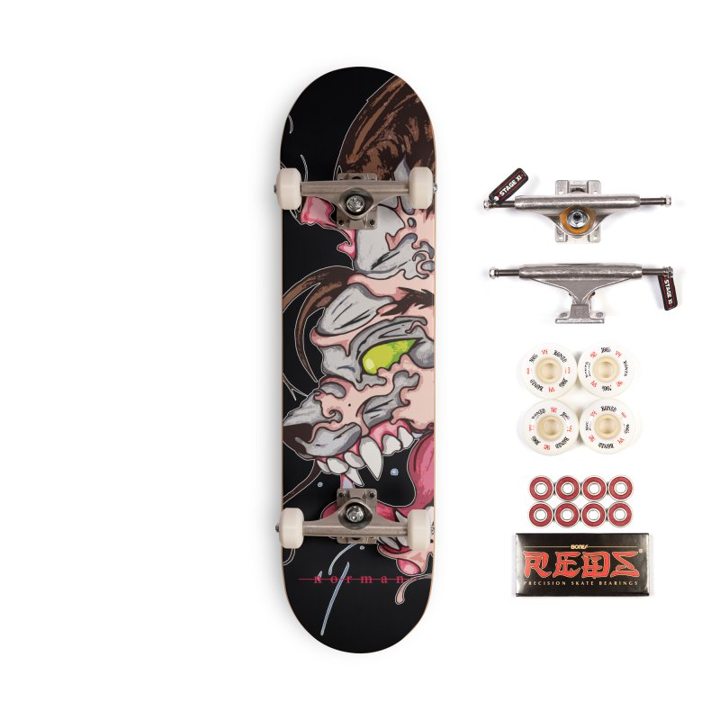 Bury Me With Wolves Accessories Complete - Pro Skateboard by Norman Wilkerson