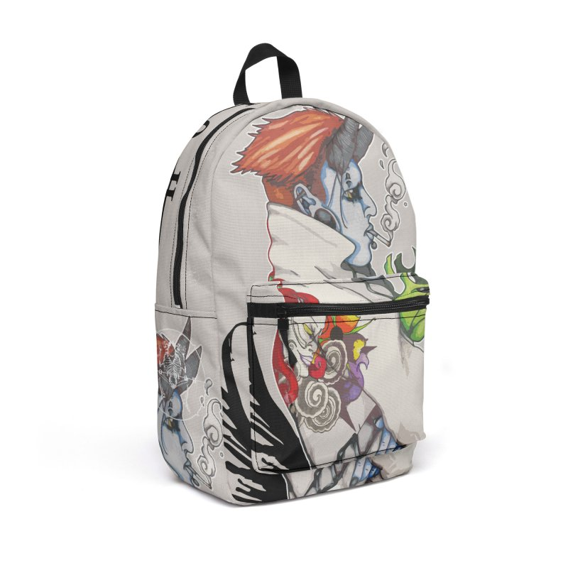 Illusions of Grandeur Accessories Backpack Bag by Norman Wilkerson