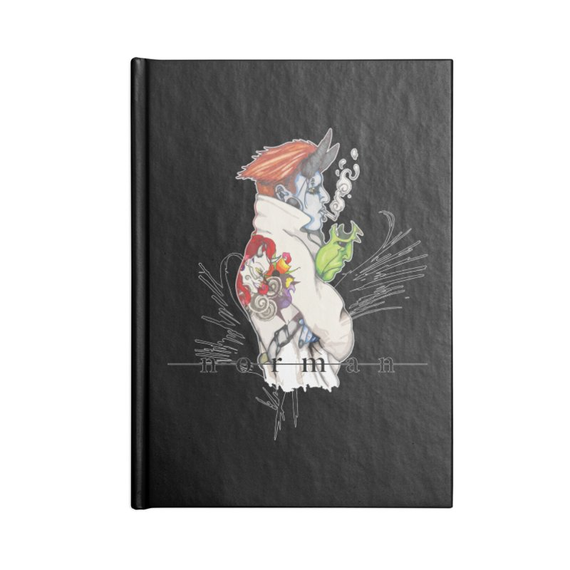 Illusions of Grandeur Accessories Lined Journal Notebook by Norman Wilkerson