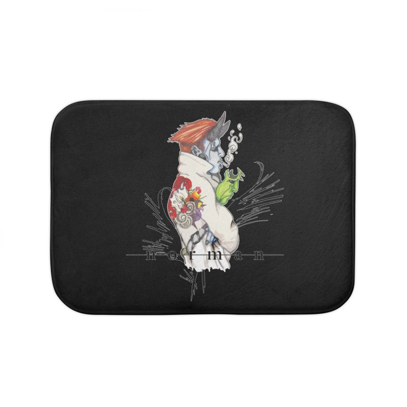Illusions of Grandeur Home Bath Mat by Norman Wilkerson