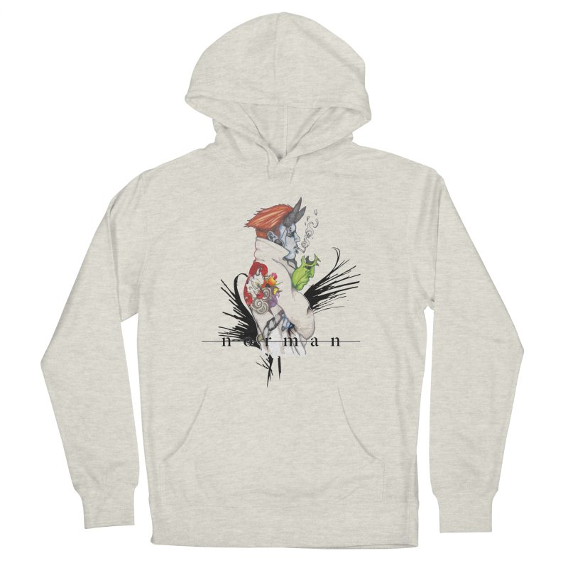 Illusions of Grandeur Men's French Terry Pullover Hoody by Norman Wilkerson
