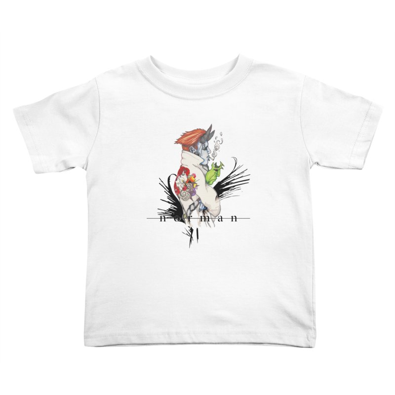 Illusions of Grandeur Kids Toddler T-Shirt by Norman Wilkerson