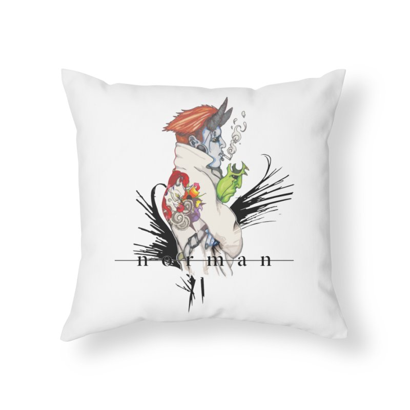 Illusions of Grandeur Home Throw Pillow by Norman Wilkerson