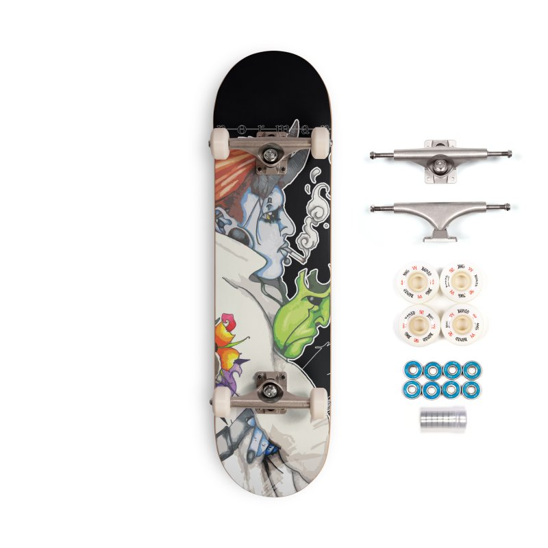 Illusions of Grandeur Accessories Complete - Premium Skateboard by Norman Wilkerson