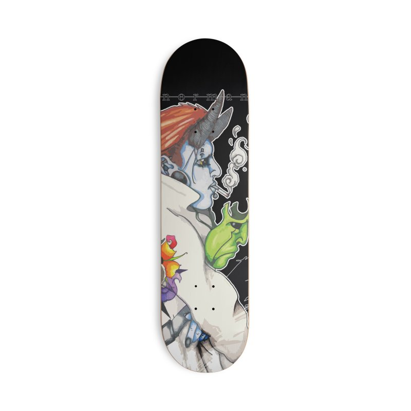 Illusions of Grandeur Accessories Deck Only Skateboard by Norman Wilkerson