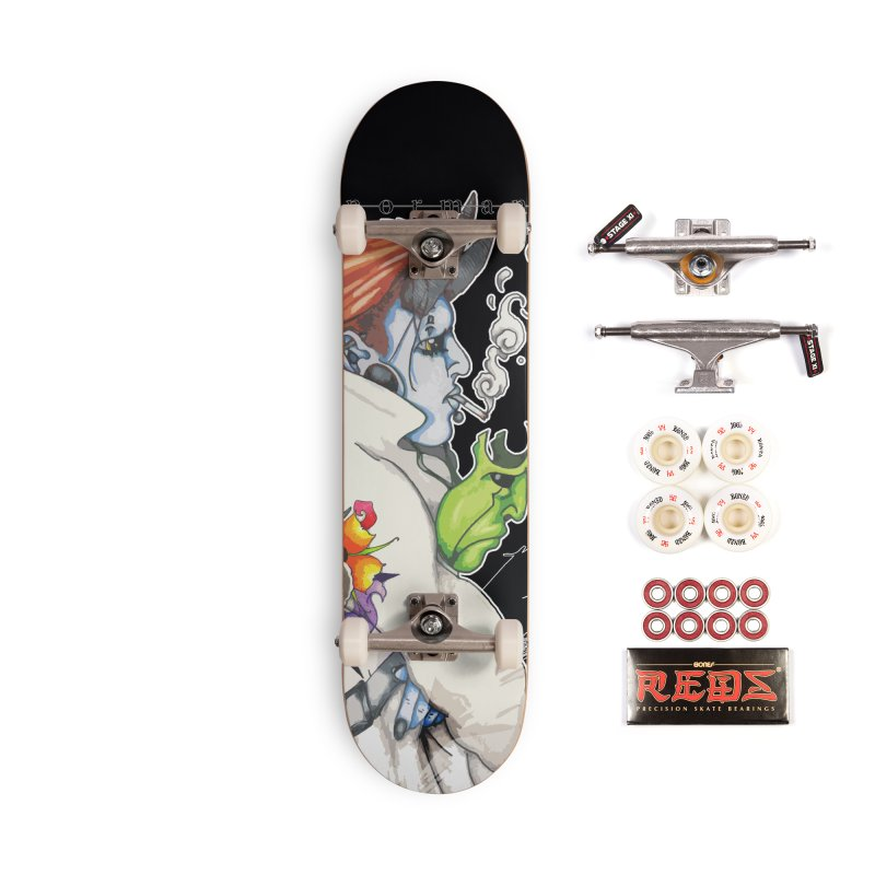 Illusions of Grandeur Accessories Complete - Pro Skateboard by Norman Wilkerson