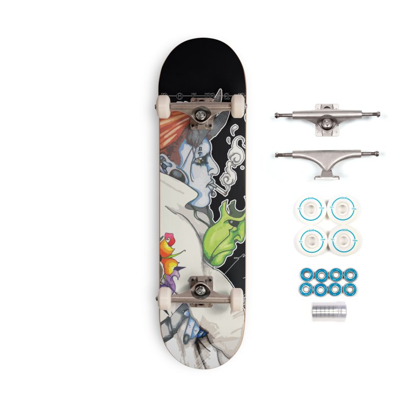 Illusions of Grandeur Accessories Complete - Basic Skateboard by Norman Wilkerson