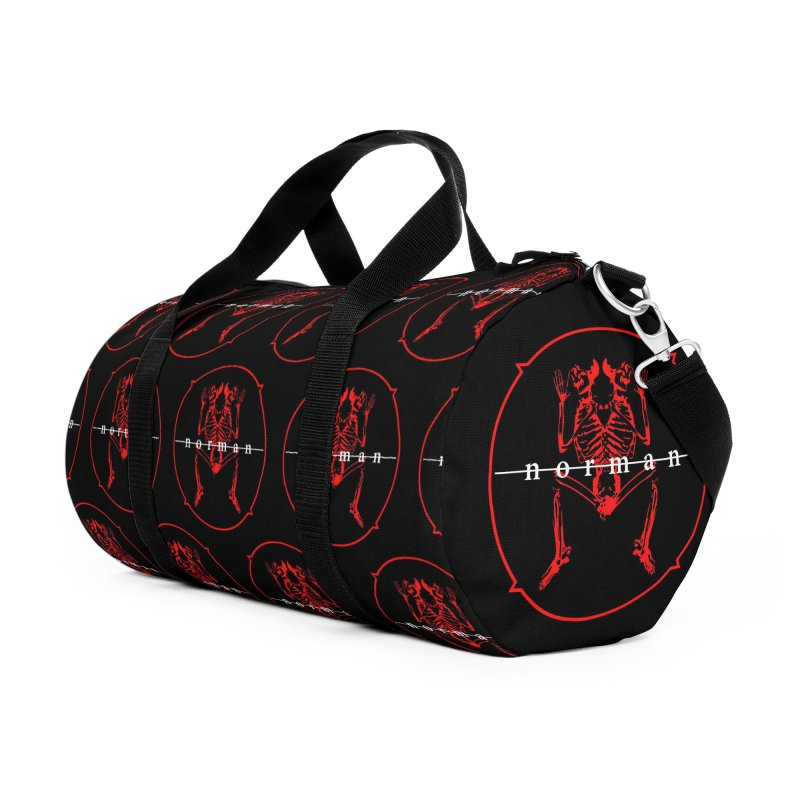 Norman Logo Accessories Duffel Bag Bag by Norman Wilkerson