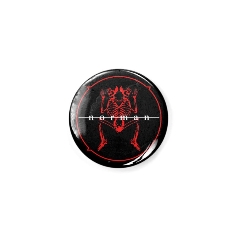 Norman Logo Accessories Button by Norman Wilkerson