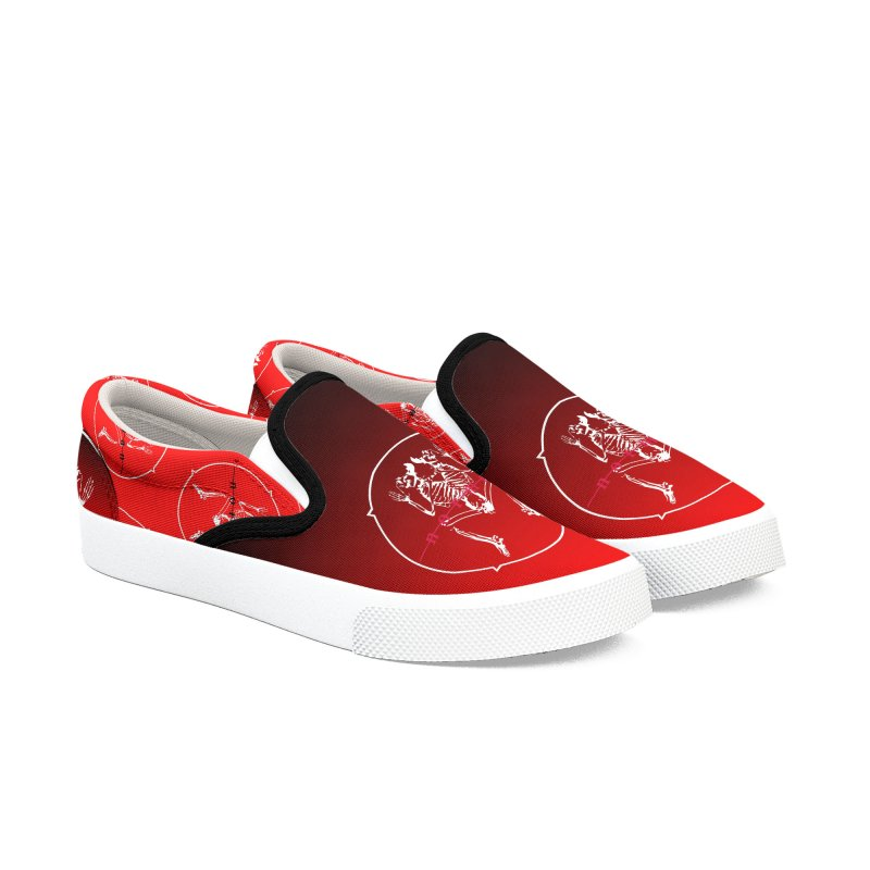 Norman Logo Men's Slip-On Shoes by Norman Wilkerson