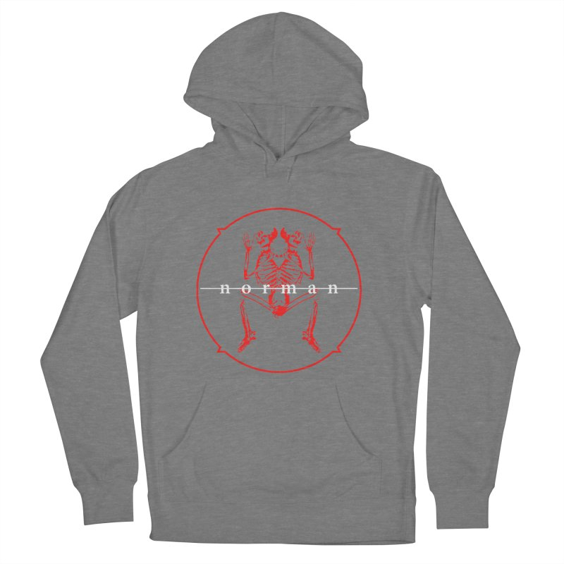 Norman Logo Men's French Terry Pullover Hoody by Norman Wilkerson