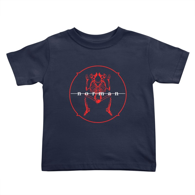 Norman Logo Kids Toddler T-Shirt by Norman Wilkerson