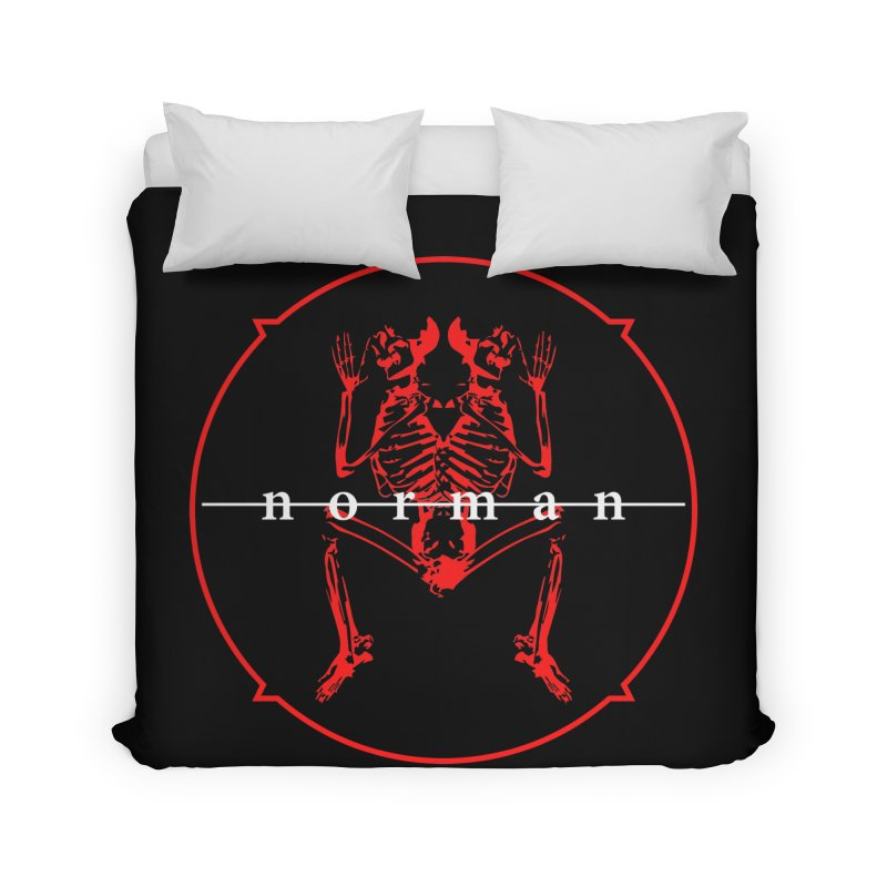 Norman Logo Home Duvet by Norman Wilkerson