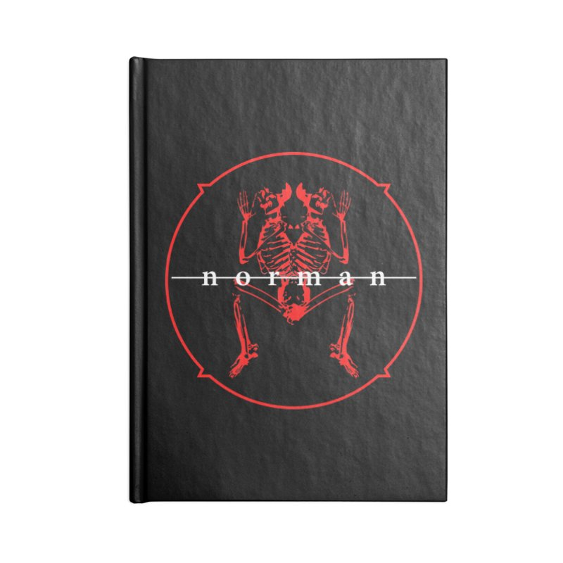 Norman Logo Accessories Lined Journal Notebook by Norman Wilkerson