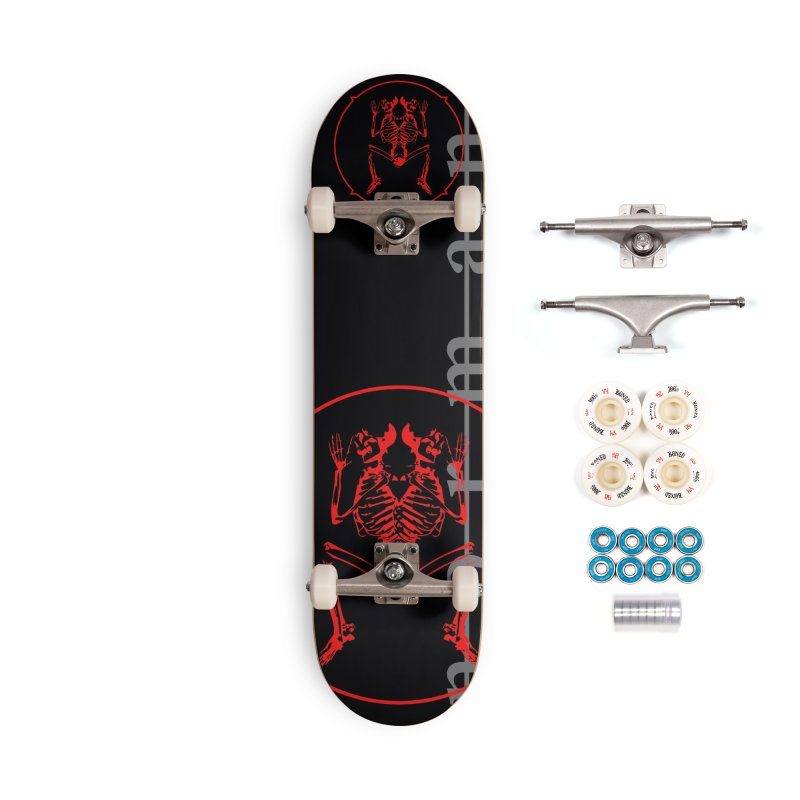 Norman Logo Accessories Complete - Premium Skateboard by Norman Wilkerson