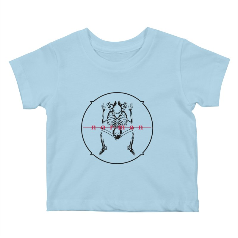 Norman logo (Black) Kids Baby T-Shirt by Norman Wilkerson
