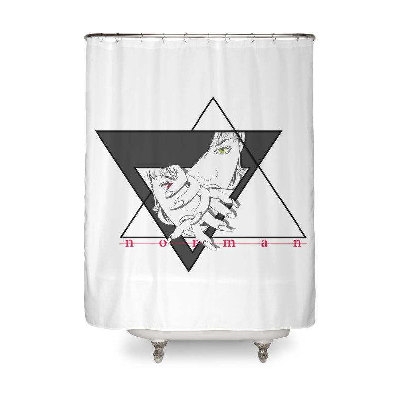 Story She Tells Home Shower Curtain by Norman Wilkerson