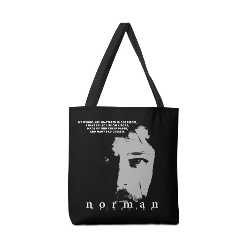 Paperboat Poet Accessories Tote Bag Bag by Norman Wilkerson