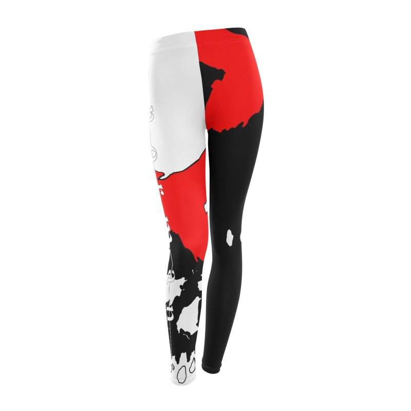 Canto of Illusions Women's Leggings Bottoms by Norman Wilkerson